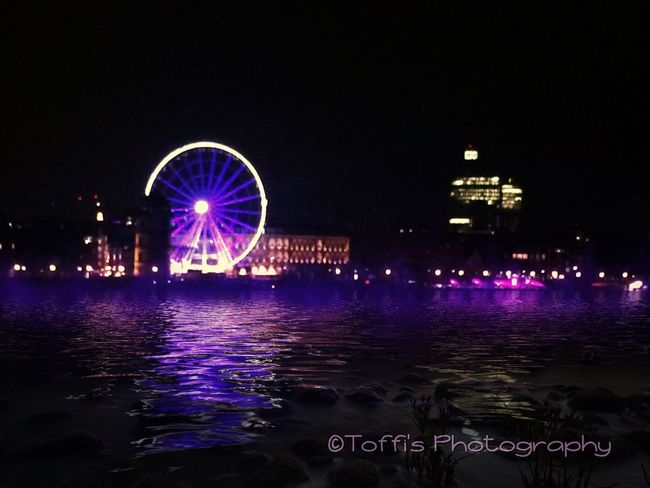 This place is Düsseldorf, germany EyeEm Best Shots Cityscapes Check This Out Hello World Night Lights
