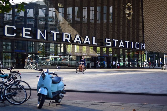 Centraalstation Rotterdam Streetphotography Netherlands RollingCamera People And Places CyclingUnites The City Light The Still Life Photographer - 2018 EyeEm Awards The Street Photographer - 2018 EyeEm Awards