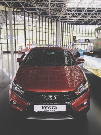 Cars Airport Vesta LADA Automotive Photography Automotive