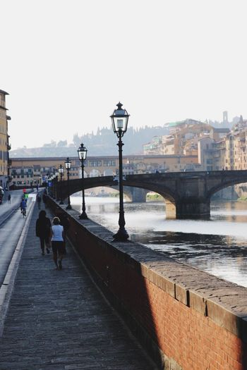 Firenze Florence Florence Italy Canonphotography Strolling Around Strolling City City Street River Colour Of Life Firenzemadeintuscany Morning Light