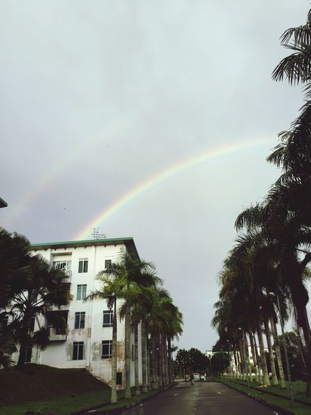 After The Rain Beauty In Nature Colorful Double Rainbows Rainbow
