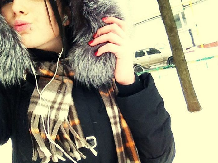 Зима блин