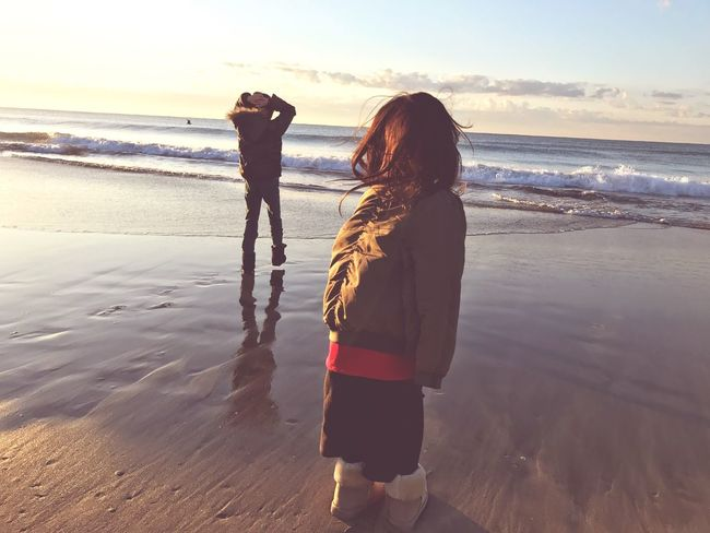 2017 Beach Sea Kids japan Hello World new year