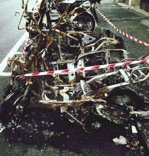 Unfall Feuer Street WTF