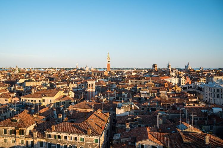 Architecture Cityscape Building Exterior Built Structure City No People Clear Sky Copy Space Tower High Angle View Outdoors Day Residential Building Travel Destinations Sky Skyscraper Urban Skyline Lost In The Landscape Aerial View EyeEm Gallery Panoramic DJI Mavic Pro Droneshot Venezia Venice, Italy The Architect - 2018 EyeEm Awards