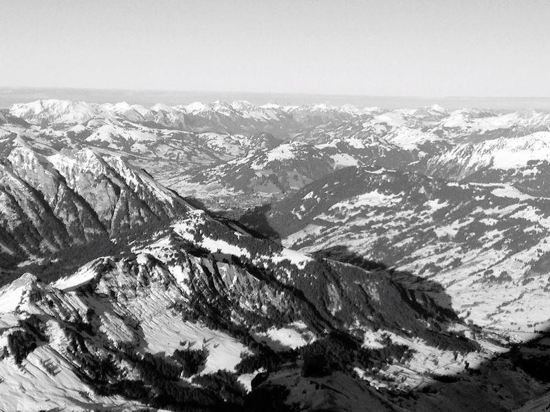Snow Sports Mountain Snow Winter Landscape The Alps Switzerland Gstaad Glacier3000