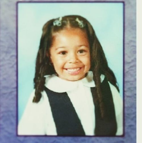 Lol lil ol me Yess That Was My Real Hair