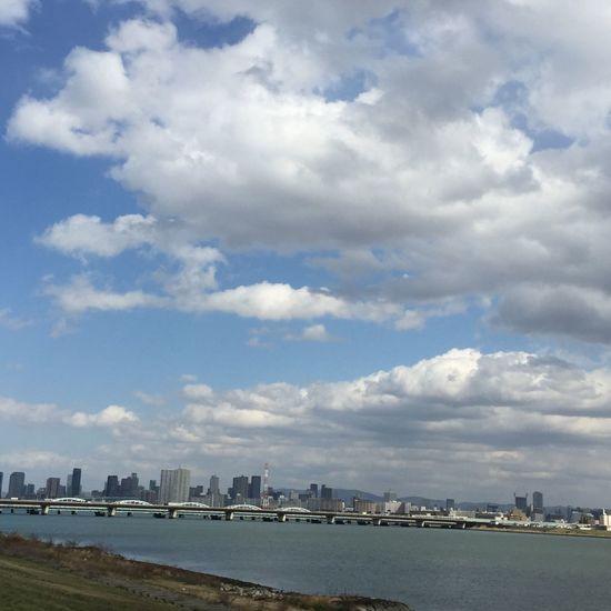 淀川 River Riverside OpenEdit Clouds And Sky Sky Collection