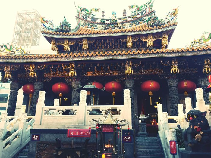 Japan Cultures Place Of Worship Architecture Temple Ma Zhu Miao Yokohama Entrance Chinatown