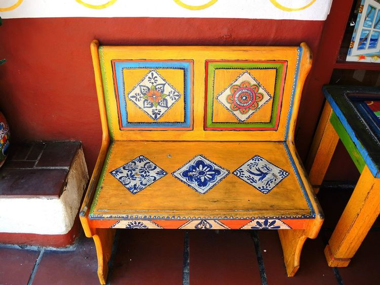 Art Is Everywhere Benches All Around Doors Old But Awesome Old Town Spainish Architecture, Spain Old Books Old Buildings Spainish Garden Tiles Windows