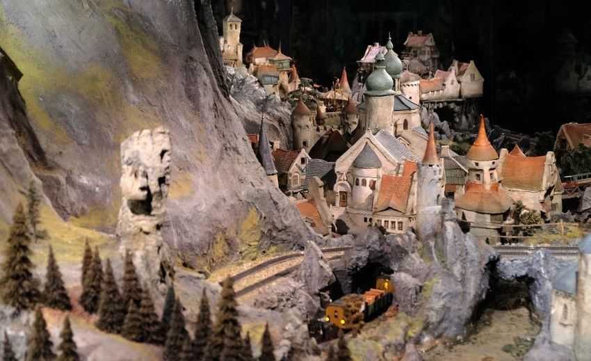Attraction theme park the Efteling, Kaatsheuvel, the Netherlands Art And Craft Human Representation Creativity Representation No People Craft Architecture Religion Solid Sculpture Belief Spirituality Day Male Likeness Built Structure Building Place Of Worship Nature Cemetery Outdoors Government Ruined
