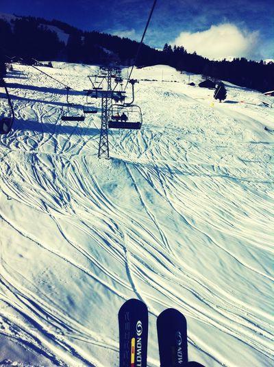Ski fahren *~* Skiing Swiss Mountains ExSport