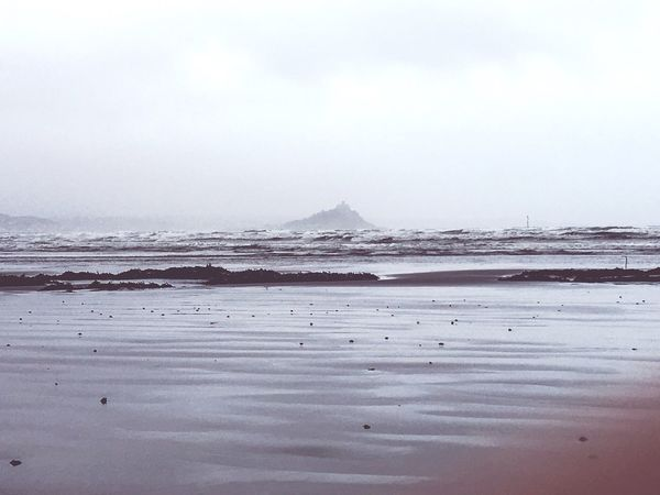 Stmichaelsmount Cornwall Beach