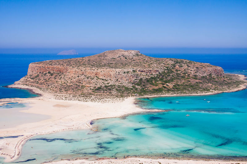 Balos Bay. Going along the path that leads to the bay. Summer in Crete Balos Bay Balos Beach Crete Greece Spectacular Bay Beauty In Nature Blue Day Greece Landscape Nature Outdoors Sand Scenics Sea Sky Tranquil Scene Tranquility Water White Sand