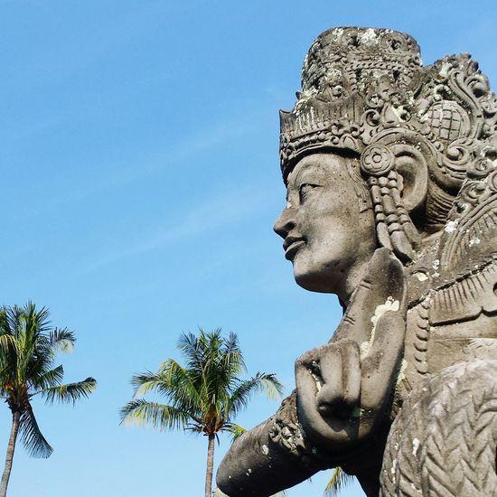 クルタ・ゴサ(スマラプラ王宮跡)。 Traveling Bali Palace Hello World Summer2015 Summervacation Great Views Sky Great Atmosphere Taking Photos