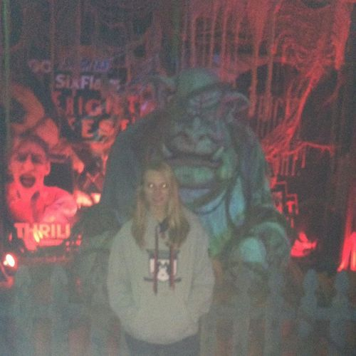 bad quality but ehh Frightfest Scary Cute Nightphotography