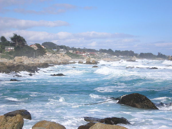 Isla Negra Beach Beauty In Nature Day Mountain Nature Neruda No People Outdoors Scenics Sea Sky Water Wave