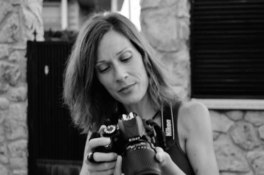 Camera Photographing Onewomanonly Photographer Blackandwhite Photography Concertphotographer Taking Photos Lorenagarciaphotography