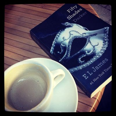 Coffee Books Fifty Shades Reading