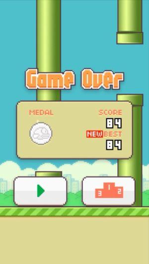 my best record ? Flappy Bird