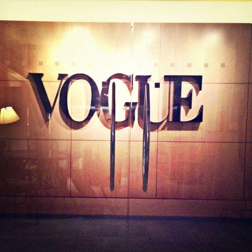 Vogue Fashion Magazine Working