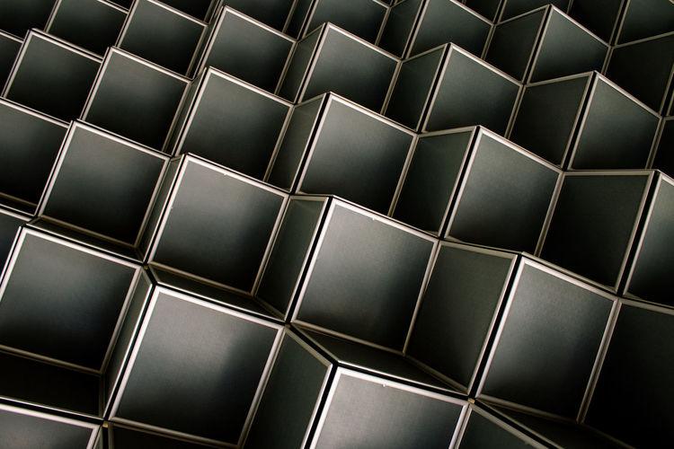 Full frame shot of patterned glass