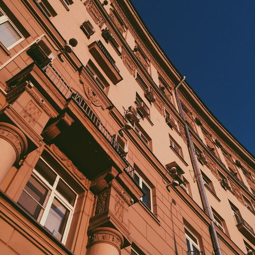 Architecture City Window Sky City Life Building Exterior Built Structure History Façade moscow