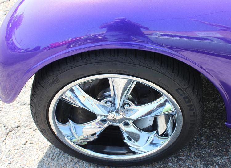Mirror Paint Car Close-up Day Hot Rod Land Vehicle Metal Motor Vehicle No People Outdoors Purple Reflection Shiny Street Tire Transportation Wheel