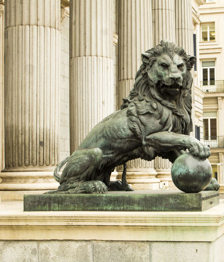 L6on the congress diputados Animal Representation Built Structure Sculpture History Statue Animal Themes Statue Statue Madrid Madrid, Spain Madrid Madrid Spain Leon Lion - Feline Outdoors No People Architecture Madrid ❤ Madridmemola Madrid,spain Madridista