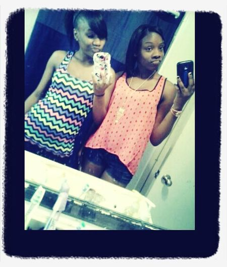 Me And Sissy On Easter!
