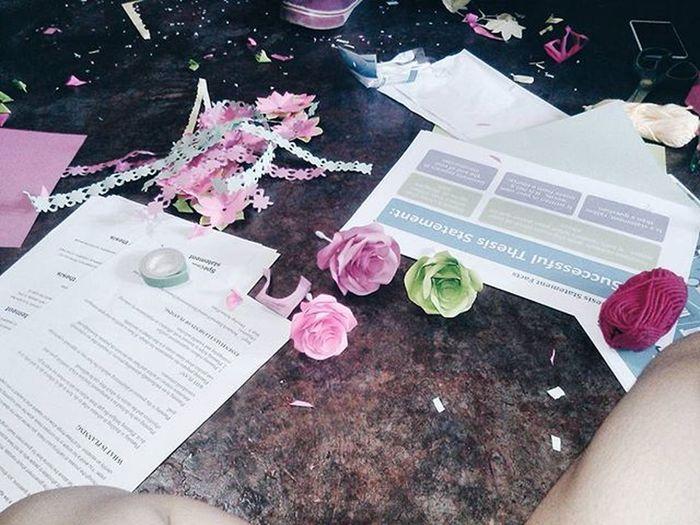 Gubot sya lyt haha 😊😁 DIY roses DIY Makingreport