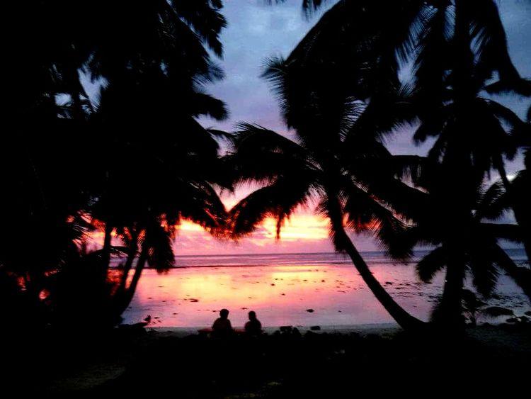 Rarotonga Raro Lagoon Sunset Lowtide  EyeEm Nature Lover Friends Islandlife Relaxing Endofday WhiteSandBeach
