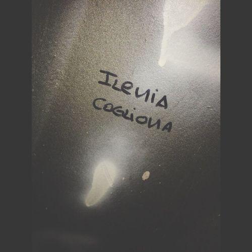 Scritte Sui Muri Ileniacogliona GraziE Ti Amo #mimanchi
