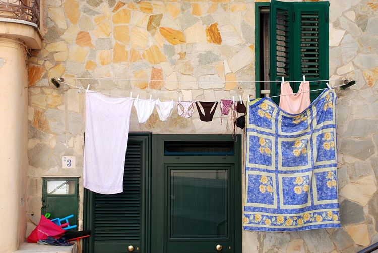 Stories From The City Italy Amalfi Coast Clothes Clothes Hanging Hanging Clothes Underwears Streetphotography Street Photography Intimacy Underwares Hanging Hanging Underwares Panties Pants