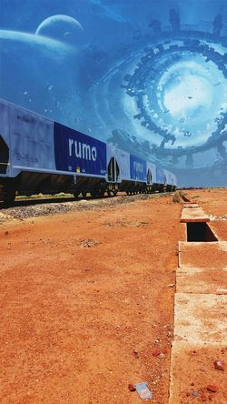 🚂🚃🚃🚃🚃🚃🍃 Transportation Trainphotography Ferrovia Rondonopolis No People Metal Industry Steam Train Rail Transportation