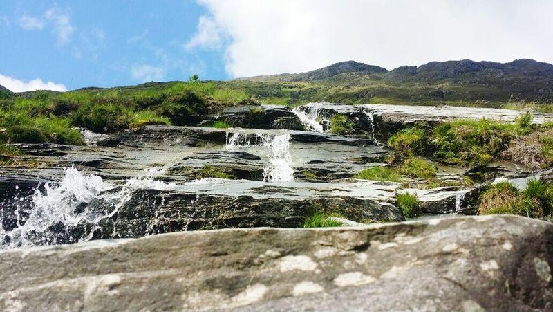 Scotland Spring Water Mini Waterfall Photography