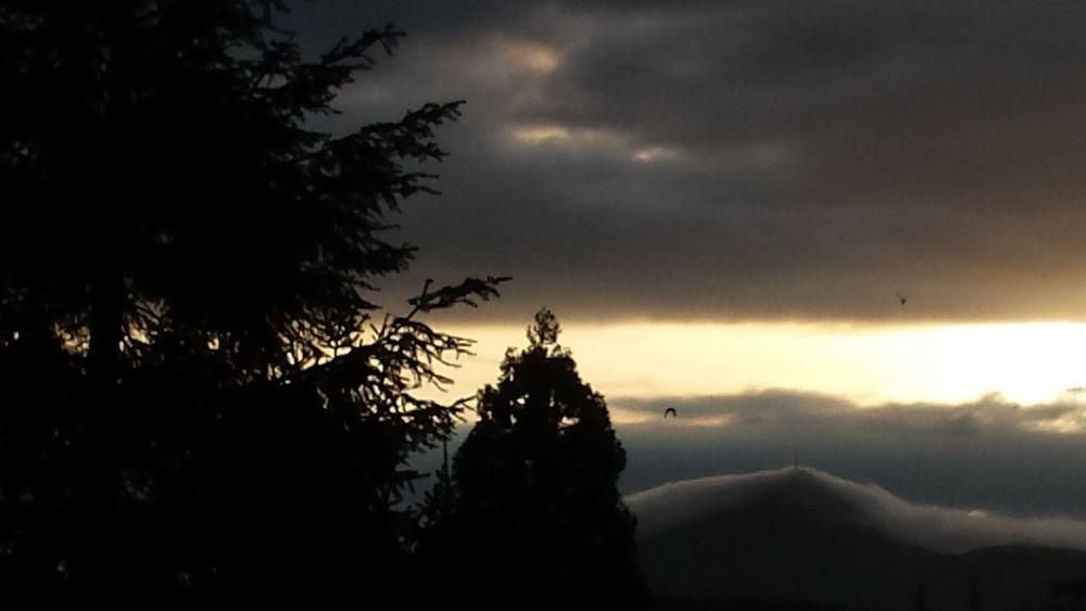 Puydedome Nature Sunset Mountain