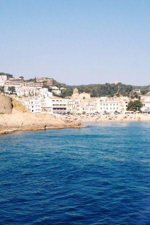 Arriving in Costa de Mar in Spain The Great Outdoors - 2015 EyeEm Awards The Traveler - 2015 EyeEm Awards SPAIN Costa Brava Cristal Clear Boat Beautiful Place