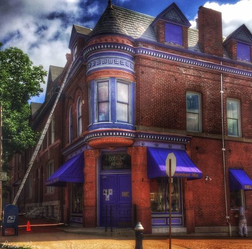 Getting spruced up Soulard Stlouis Architecture