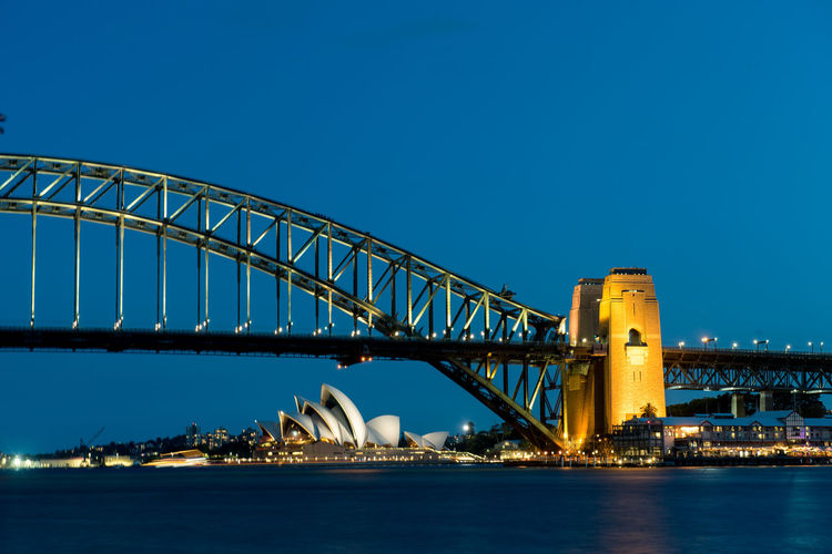Australia Sydney Sydney, Australia Sydney Opera House Sydney Harbour Bridge Harbour Bridge Operahouse Architecture Built Structure Sky Water Waterfront Connection Bridge - Man Made Structure Blue Transportation Clear Sky No People River Building Exterior Nature Travel Destinations City Copy Space Outdoors Arch Bridge Bay