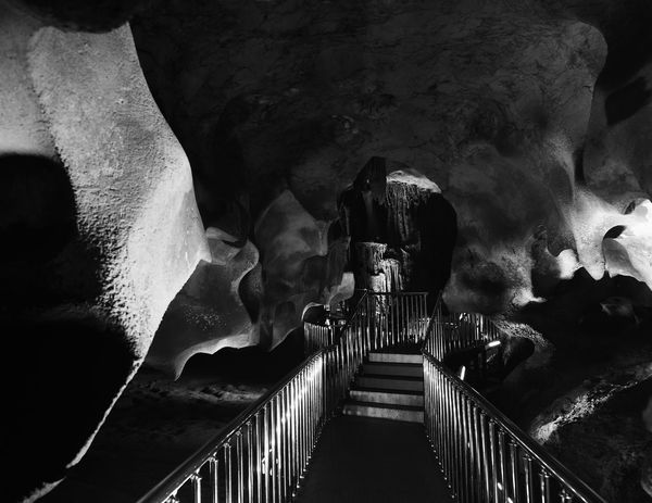 Stalactite & Stone Caves Astim Caves Calcium Calcium Deposits Cave Caves Close-up Dark Historical Sights Indoors  Low Angle View Mersin Path Railing Railing Real People Staircase Stairs Stalactite  Steps Steps And Staircases Turkey Underground Underground Walkway Winding Path Winding Stairs