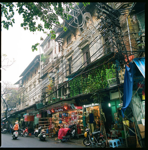 An every day life in Hanoi Film Hà Nội Living Morning Old-fashioned Raining Rainy Days Vietnam Accient Architecture Building Building Exterior Built Structure City Daily Life Film Photography Filmisnotdead French Colonial Architecture Medium Format Old Outdoors Shop Street Street Art