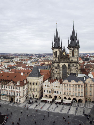 Prague Czech Republic Trip Journey Travel Building Exterior Architecture Built Structure Building City Sky Residential District Town Religion Day Place Of Worship History The Past Nature Crowd Spirituality Cityscape Outdoors TOWNSCAPE Gothic Style