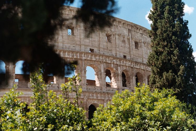 Coliseum Moving Around Rome Rome Ancient Arch Architecture History Italy Old Ruin