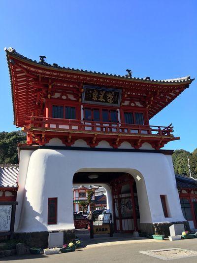 武雄温泉 Takeo Architecture Built Structure Building Exterior Day Clear Sky Blue Outdoors