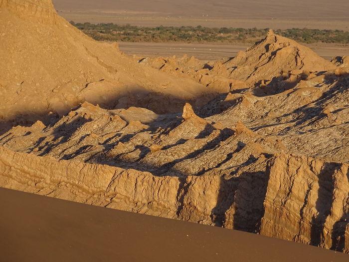 Rock formation at atacama desert
