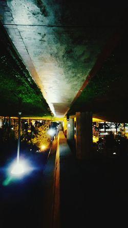 Pathway Nightphotography Rotated