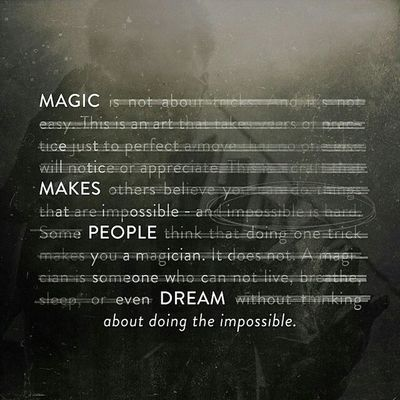 Magician Theory11 Dream Impossible