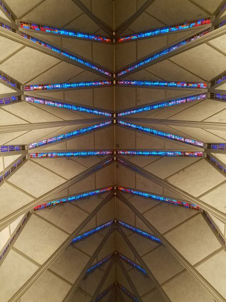 Air Force Academy Chapel Interior Ceiling Design