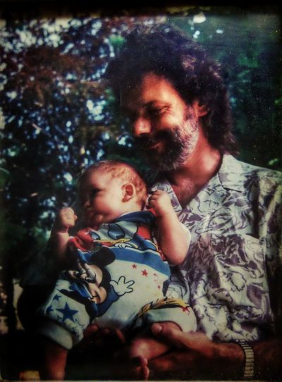 Aged Fotos Love Of A Father Timeless Moments A Man And His Son Babyboy In His Father's Arms Babies Last Millenium '...when I Was Young... ' HippielifeShowcase August Colour Of Life Fatherhood Moments
